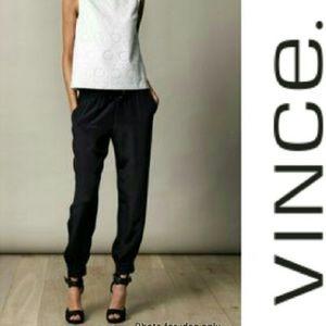Vince. Navy Dressy Joggers NWOT
